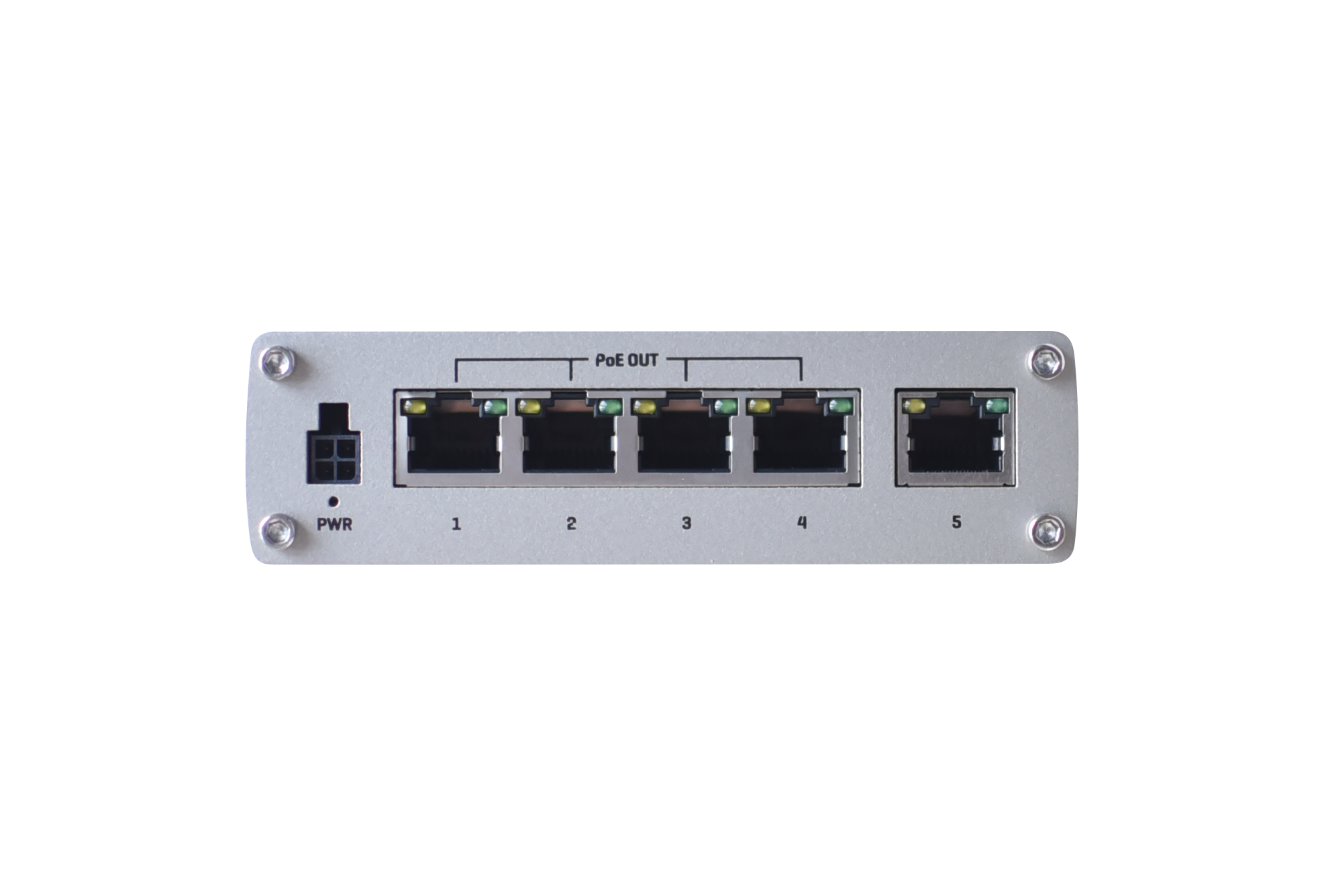Teltonika TSW100 | Industrial Unmanaged PoE Ethernet Switch