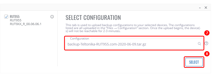 Networking rut955 configuration examples configuration backup upload rms select configuration v1.png
