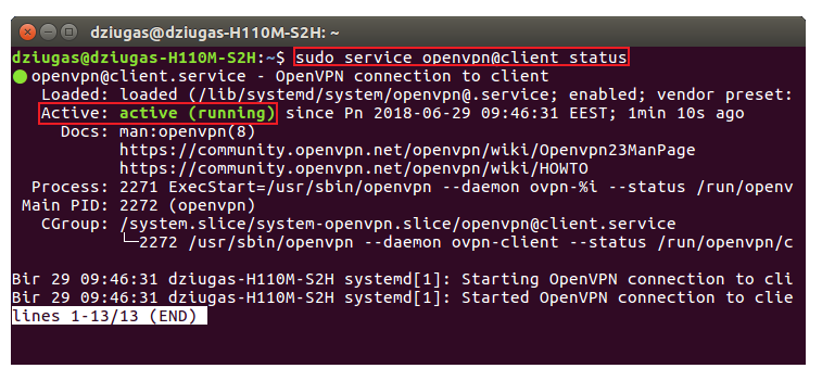 How to check openvpn status on linux.png